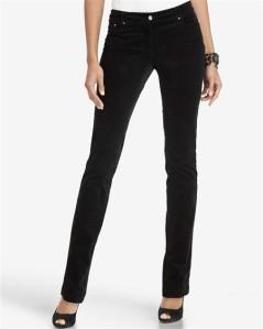Noir, Skinny Corduroy Pants